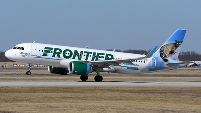 A picture of N365FR - Airbus A320251N - Frontier Airlines - © DJ Reed - OPShots Photo Team