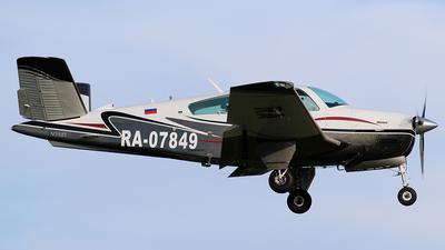 RA-07849 - Beechcraft V35B Bonanza - Private