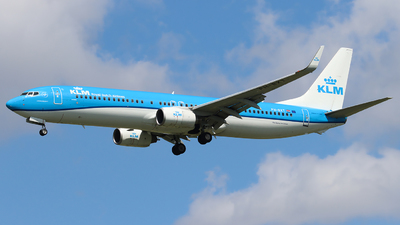 A picture of PHBXT - Boeing 7379K2 - KLM - © Joost Alexander