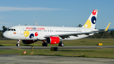 A picture of HK5275 - Airbus A320214 - Viva Air - © Jorge Saenz