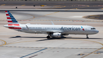 A picture of N156AN - Airbus A321231 - American Airlines - © SakaiWakana