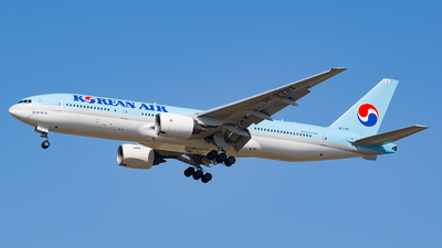A picture of HL7721 - Boeing 7772B5(ER) - Korean Air - © YunHyeokChoi