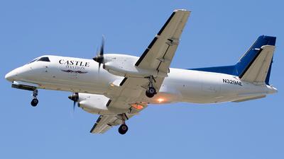 N329AE - Saab 340B(F) - Castle Aviation