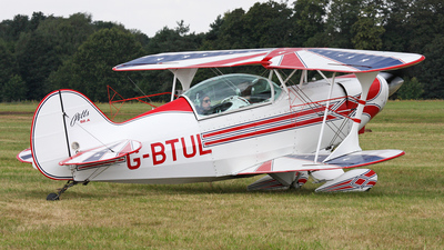 G-BTUL - Pitts S-2A Special - Private