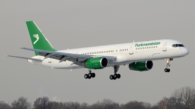 A picture of EZA010 - Boeing 75723A - Turkmenistan Airlines - © Bakayenko Andrey