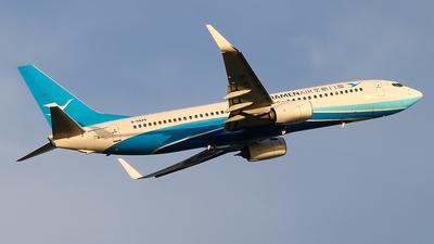 A picture of B6849 - Boeing 73785C - Xiamen Air - © Jeppesen_Tu