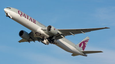 A7-BAU - Boeing 777-3DZER - Qatar Airways