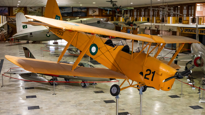 D501 - De Havilland DH-82A Tiger Moth - Pakistan - Air Force