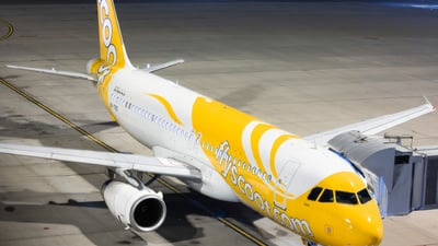 9V-TRD - Airbus A320-232 - Scoot