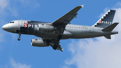 N530NK - Airbus A319-132 - Spirit Airlines