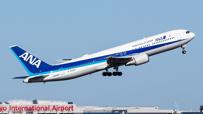 A picture of JA604A - Boeing 767381(ER) - All Nippon Airways - © Epsilon sc7
