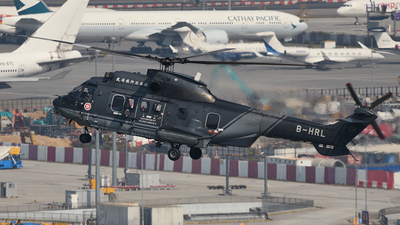 B-HRL - Aérospatiale AS 332L2 Super Puma - Hong Kong - Government Flying Service (GFS)