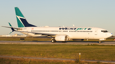 A picture of CGKWA - Boeing 7378CT - WestJet - © Shon Fridman