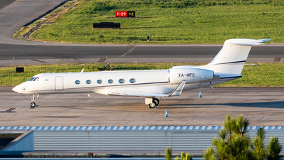 XA-MPS - Gulfstream G-V - Transportes Aereos Tauro