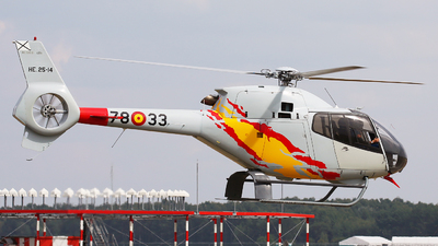 HE.25-14 - Eurocopter EC 120B Colibri - Spain - Air Force