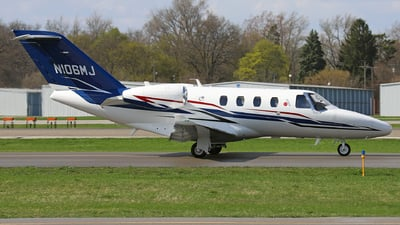 N106MJ - Cessna 525 CitationJet M2 - Private