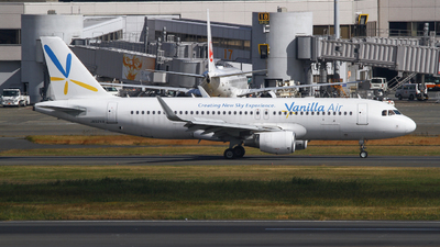 JA02VA - Airbus A320-214 - Vanilla Air