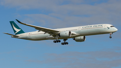 A picture of BLXH - Airbus A3501041 - Cathay Pacific - © Colin Green