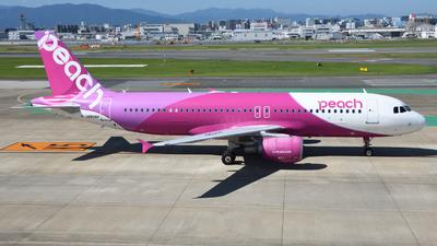 JA808P - Airbus A320-214 - Peach Aviation