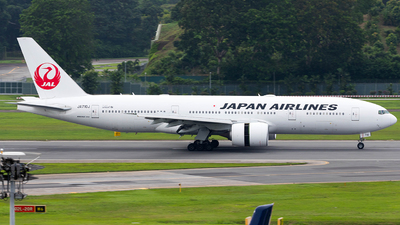 JA710J - Boeing 777-246(ER) - Japan Airlines (JAL)