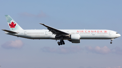 A picture of CFIVQ - Boeing 777333(ER) - Air Canada - © Sierra Aviation Photography