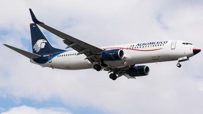 N861AM - Boeing 737-83N - Aeroméxico