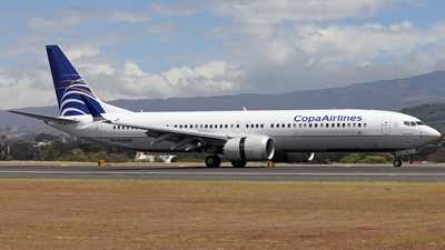 A picture of HP9912CMP - Boeing 737 MAX 9 - Copa Airlines - © Denis Gonzalez - Costa Rica Spotter