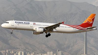 EP-LCT - Airbus A321-211 - Kish Air