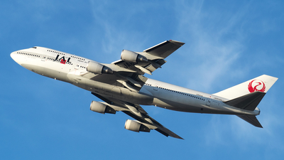 JA8090 - Boeing 747-446D - Japan Airlines (JAL)