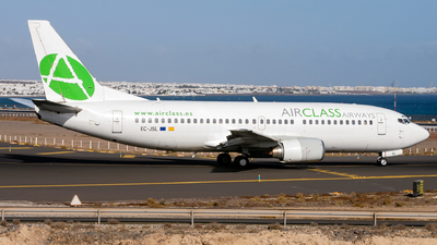 EC-JSL - Boeing 737-33A - AirClass Airways