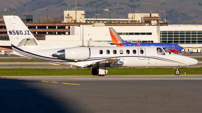 N560JZ - Cessna 560 Citation V - Private