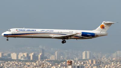 EP-TBC - McDonnell Douglas MD-88 - Taban Air