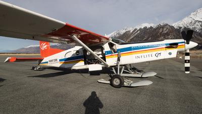 ZK-MCT - Pilatus PC-6/B2-H4 Turbo Porter - Mount Cook Ski Planes