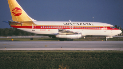 N7375F - Boeing 737-291 - Continental Airlines