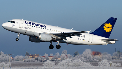 D-AILR - Airbus A319-114 - Lufthansa
