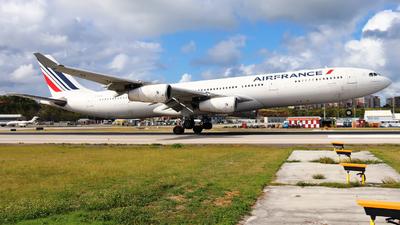 F-GLZO - Airbus A340-313X - Air France