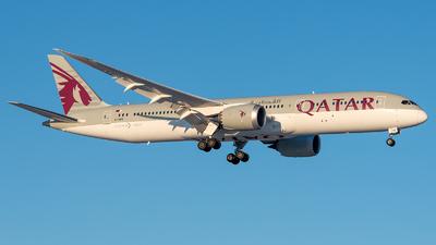 A picture of A7BHG - Boeing 7879 Dreamliner - Qatar Airways - © GoldenWingPix