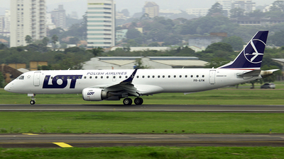 PR-AYM - Embraer 190-200IGW - LOT Polish Airlines
