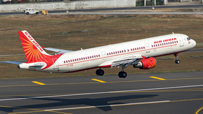 VT-PPW - Airbus A321-211 - Air India