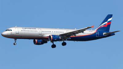VQ-BOH - Airbus A321-211 - Aeroflot