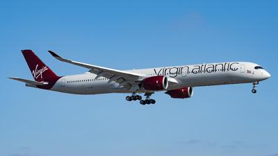 A picture of GVDOT - Airbus A3501041 - Virgin Atlantic - © Haocheng Fang