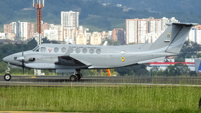 FAC5727 - Beechcraft B300 King Air 350 - Colombia - Air Force