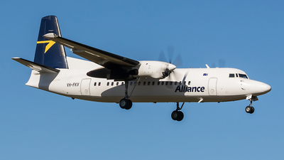VH-FKV - Fokker 50 - Alliance Airlines
