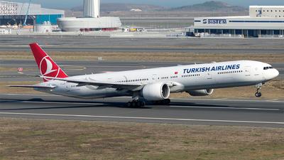 TC-LJD - Boeing 777-3F2ER - Turkish Airlines