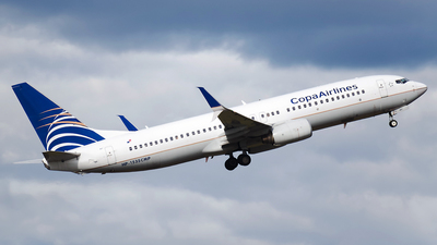 A picture of HP1535CMP - Boeing 7378V3 - Copa Airlines - © Esteban Cristancho