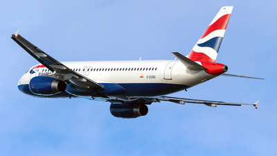 G-EUUG - Airbus A320-232 - British Airways