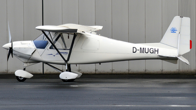 A picture of DMUGH - Comco Ikarus C42 Cyclone - [01066354] - © Alex Herbort