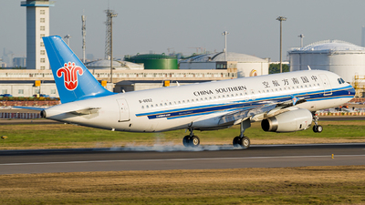 A picture of B6652 - Airbus A320232 - China Southern Airlines - © FIWH
