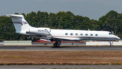 N614CM - Gulfstream G-V - Private