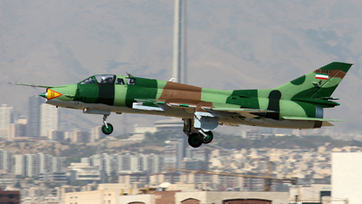 15-2461 - Sukhoi Su-22UM Fitter - Iran - Revolutionary Guard